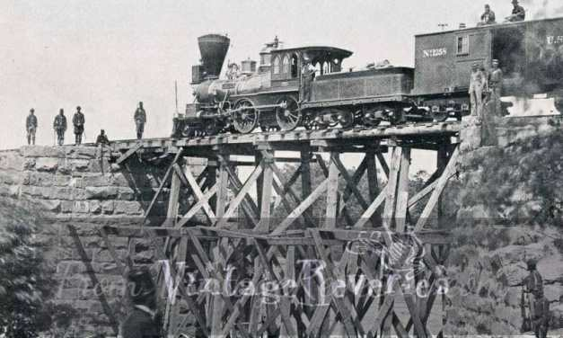 Photos of Civil War Generals and Steam Trains