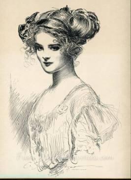 the debutante gibson girl