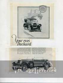 1925 Packard ad