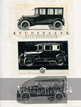 1920s studebaker car advertisement