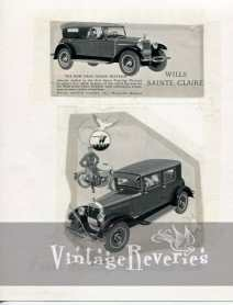 wills ste claire car ad