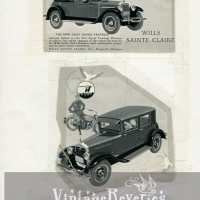 Willys Knight, Wills St. Claire and Stutz Car Ads