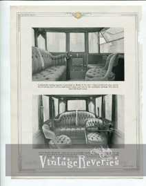 Edwardian era car interior