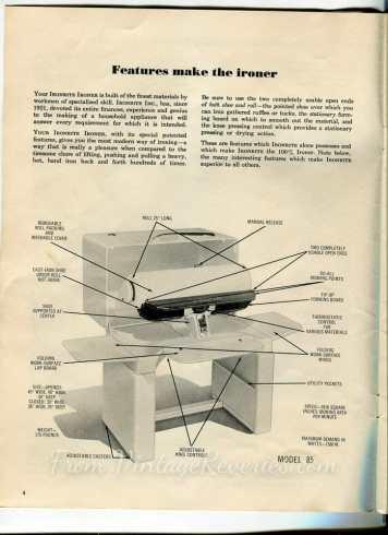 ironing machine diagram