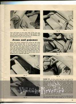 how to machine iron jeans