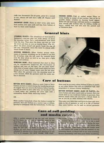1940s ironing tips and tricks