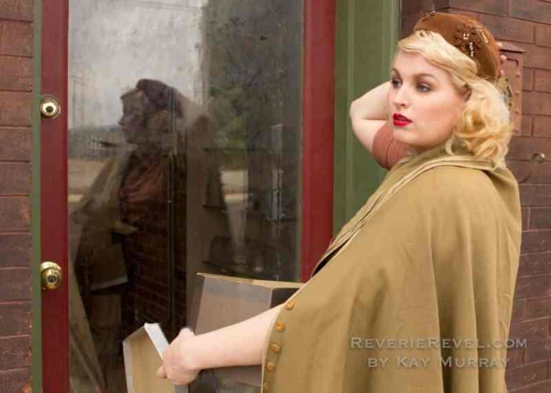 vintage fashion editorial