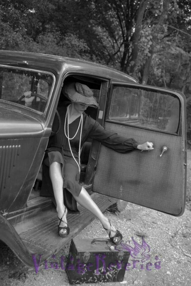 Modern retro photography