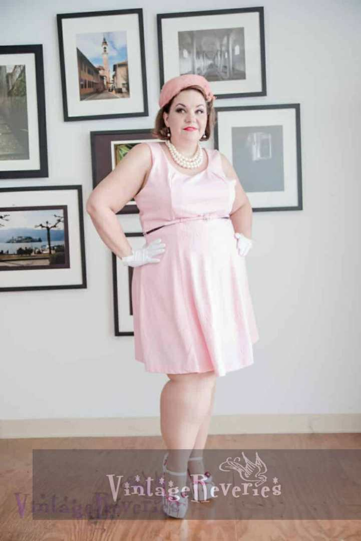 BBW pinup model st louis