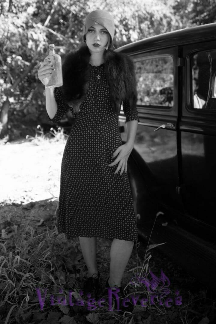 1920s fashion styling