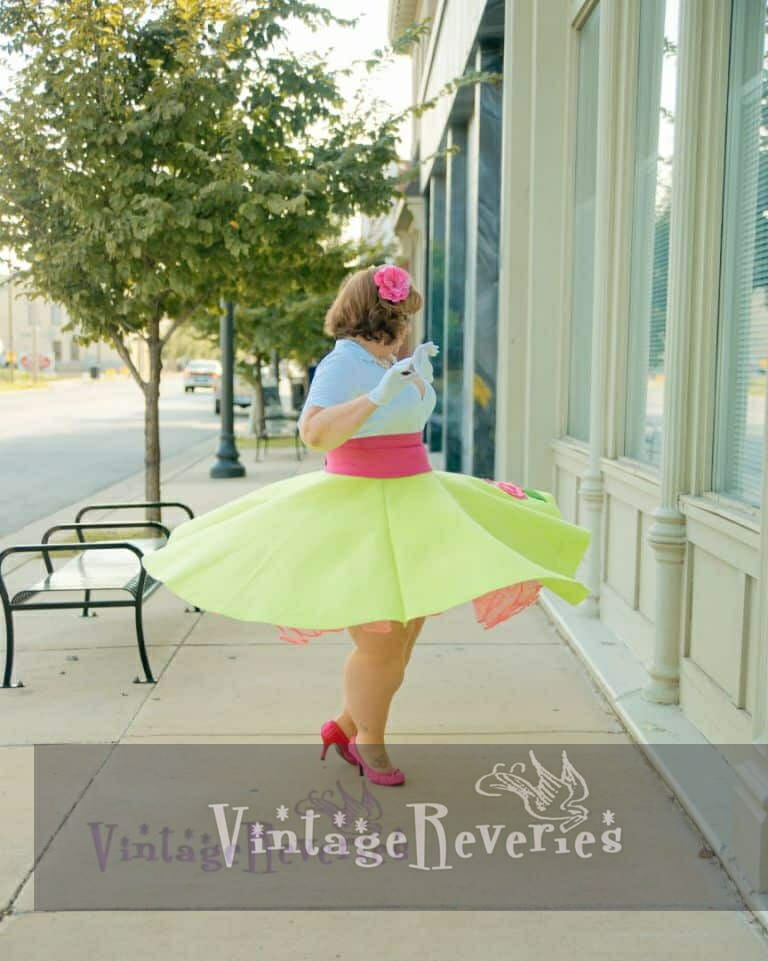bbw circle skirt