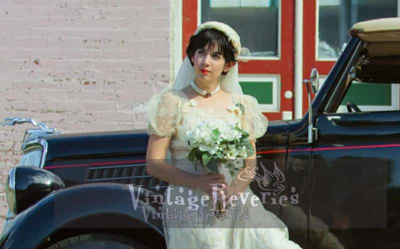 old hollywood bridal