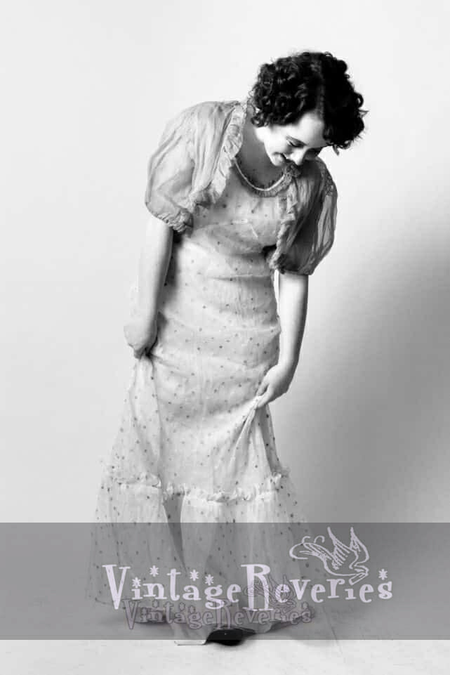 cute 1930s dress