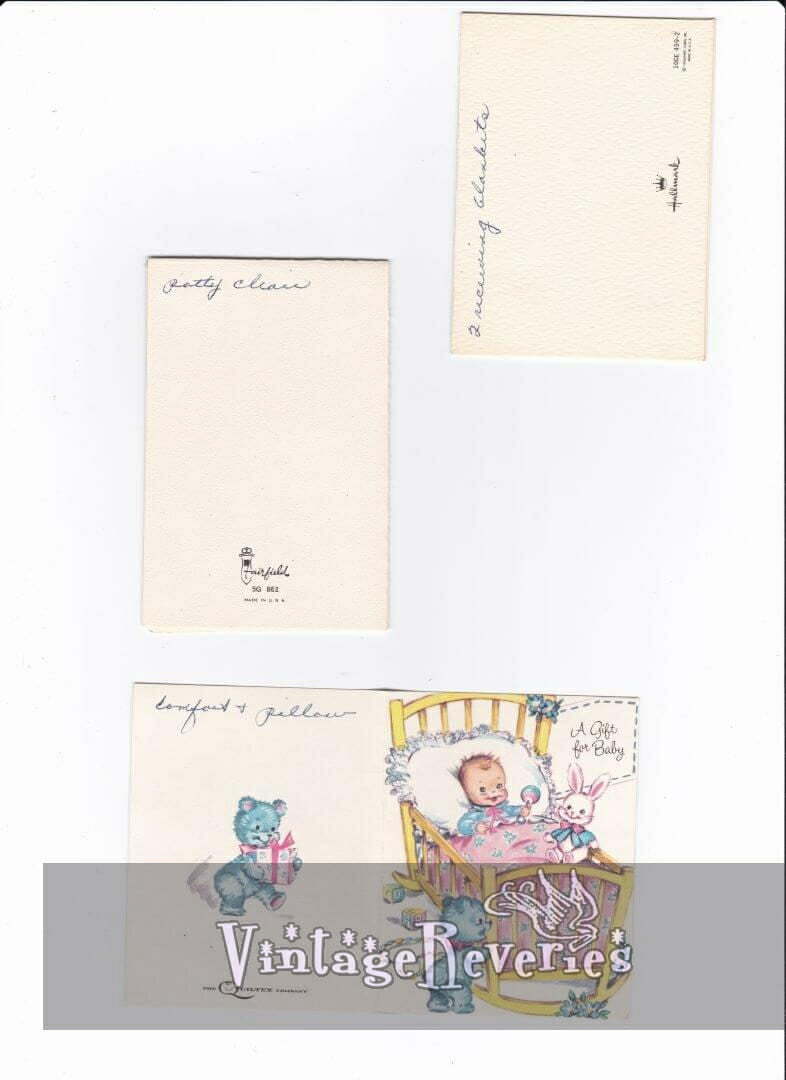 scans of the backs of cards