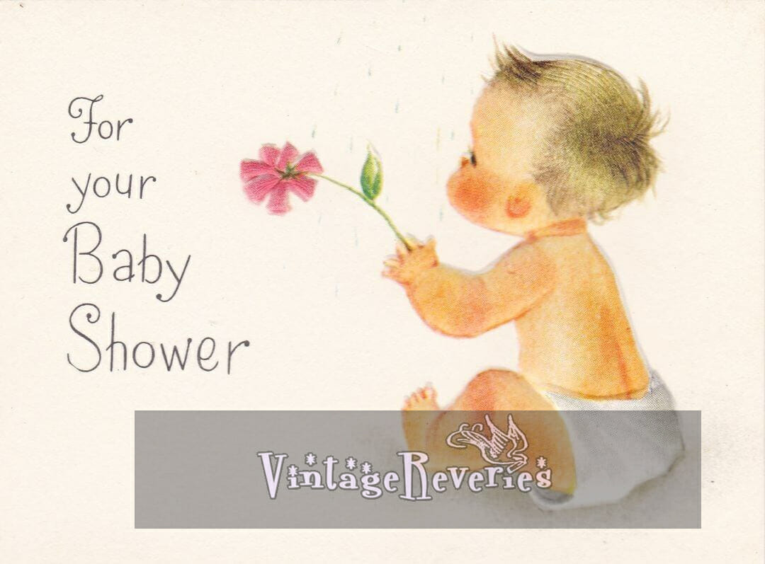 cute baby illustration