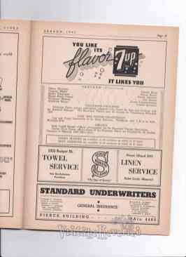 1943 St. Louis Muny Season Program