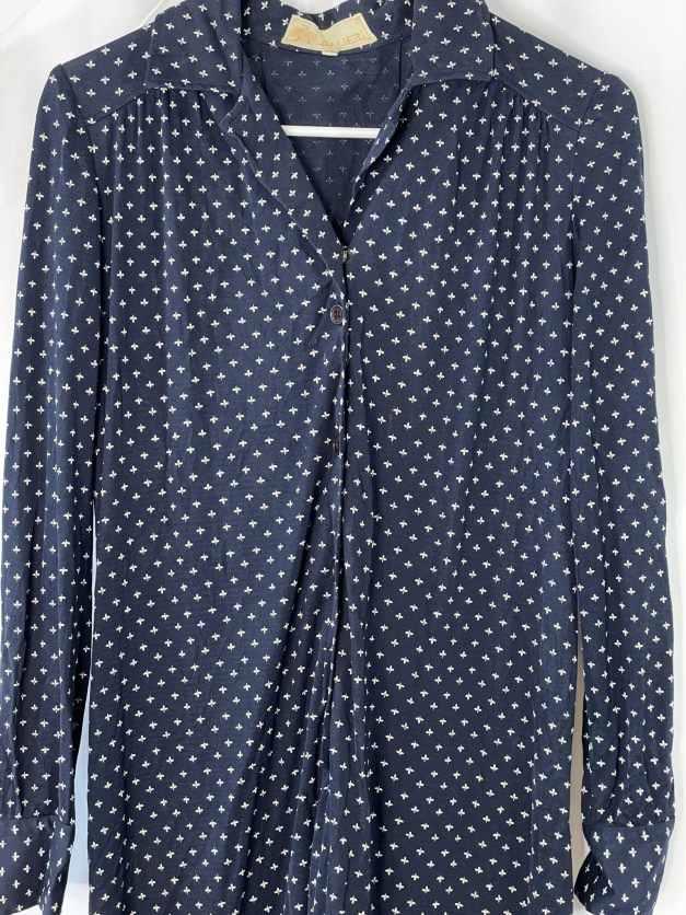 Vintage 70s shirt dress