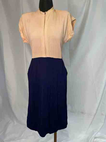 Vintage 60s does the 40s office dress for sale