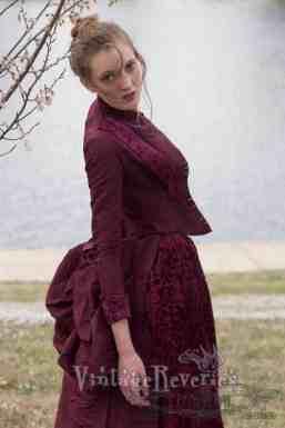 1880s bustle fashion