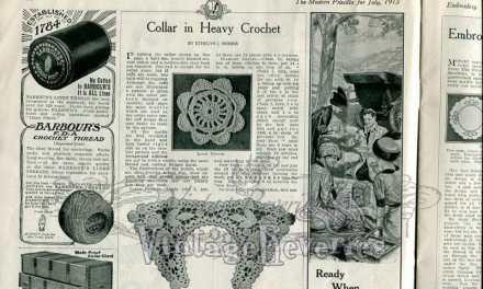 Heavy Crochet Pattern & Mosaic Canvas pattern