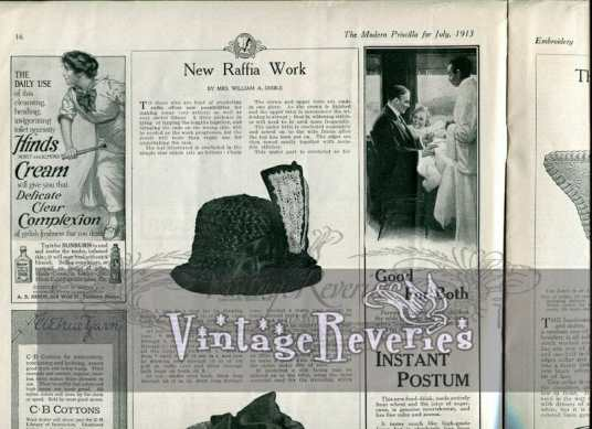 how to make an edwardian hat