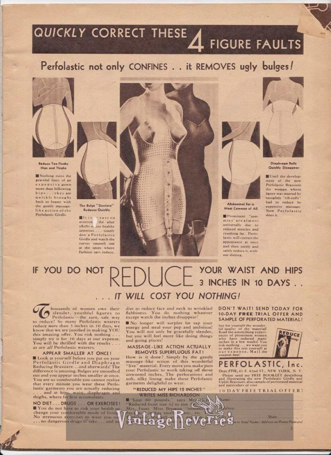 1935 girdle and shapewear underwear fashion