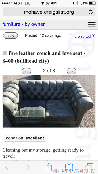 a tale of 2 couches part 1 craigslist