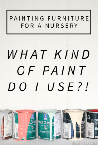 Painting Furniture For A Baby Nursery (Is It Safe To Paint ...