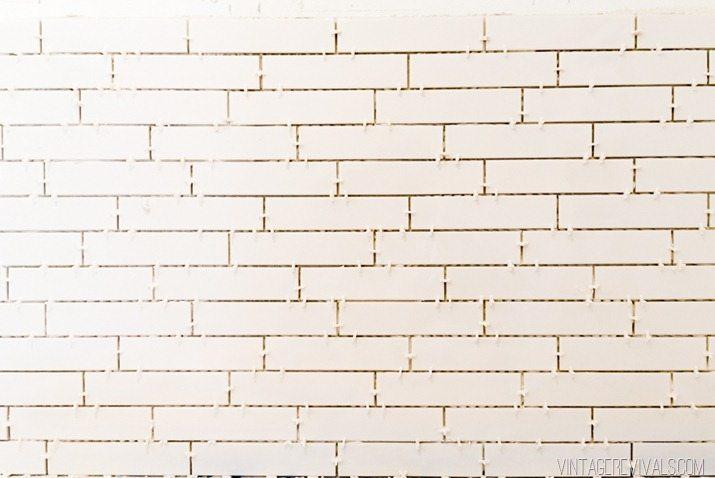 installing subway tile cause
