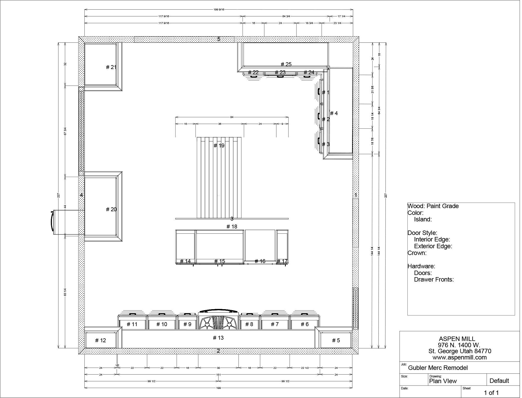 Kitchen Layout Design At The Merc Vintage Revivals