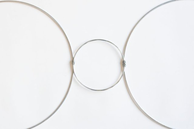 3 hoops wrapped together