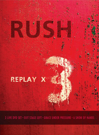 rush replay x 3 cd dvd review