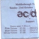AC/DC at Newcastle Mayfair 1977 to 1980 (2/6)