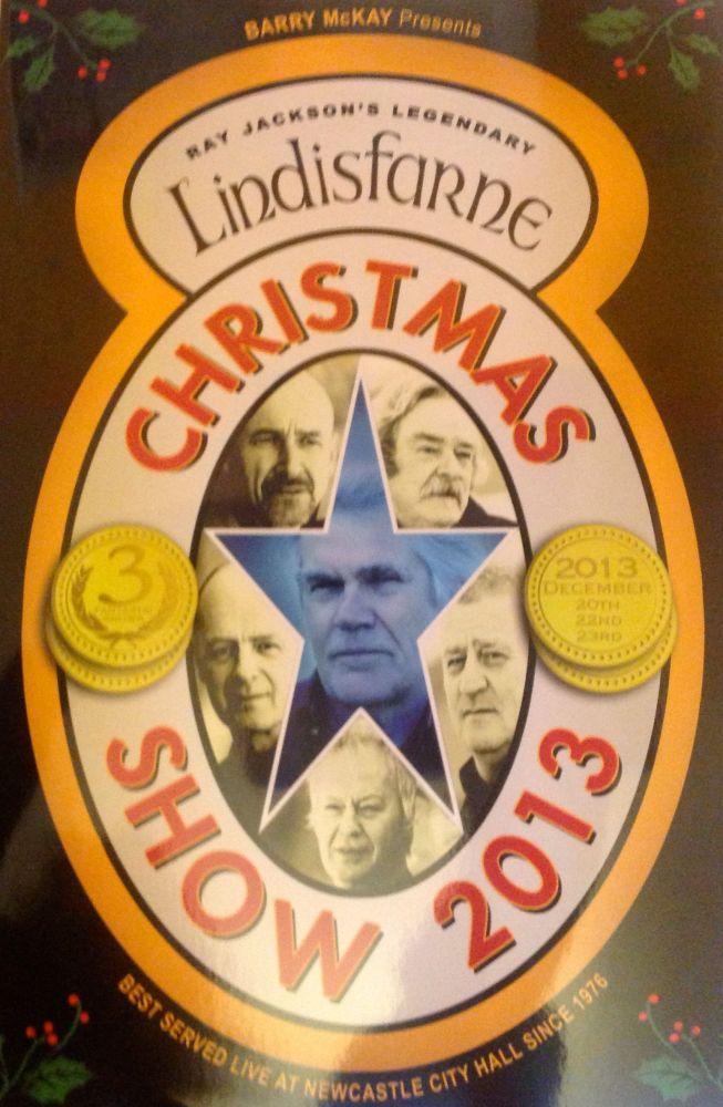 Ray Jackson's Lindisfarne Christmas Show Newcastle City Hall 22nd December 2013 (1/2)