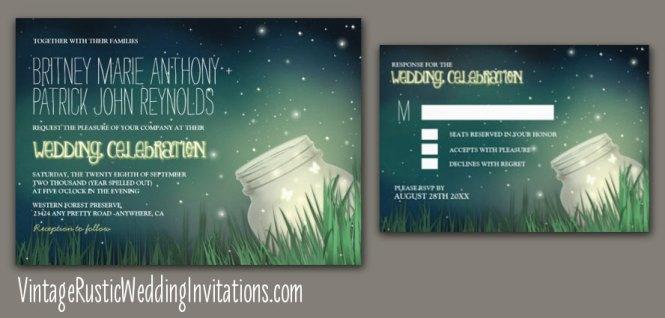 Navy Blue And Gold Wedding Invitation Glitter Rustic Chic Fl Invite Set Invitations Soumya 39 S