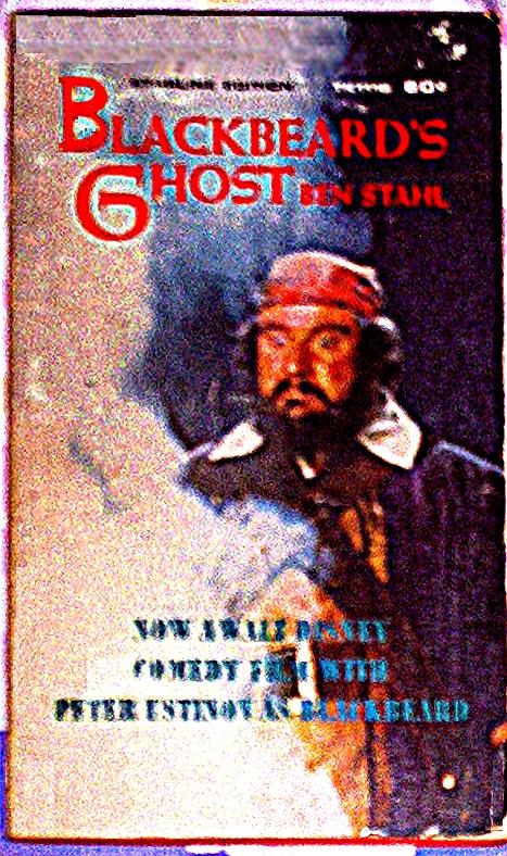 Blackbeards Ghost by Ben Stahl TK1115  vintagescholastics
