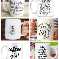 10 Mugs to Love {and Buy}
