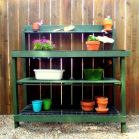 My Potting Bench Makeover