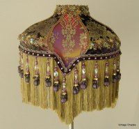 Victorian Lampshade for Bridge o