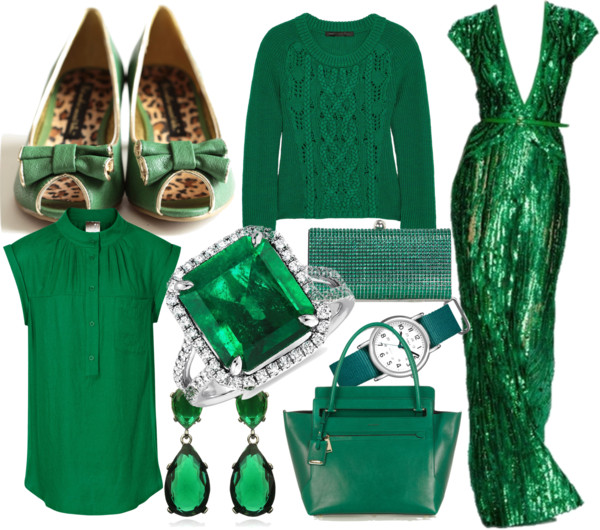 Emerald  Vintage Show To