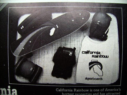 California Rainbow skateboards
