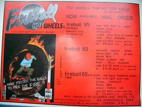 Fireball Hotwheels