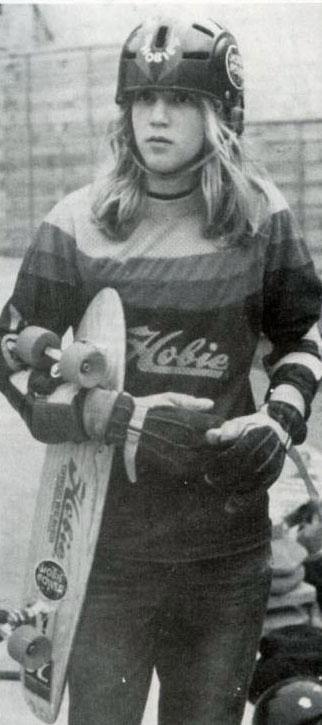 Vintage skateboard star John Sablosky