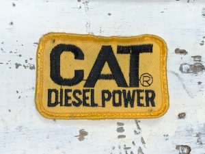 Vintage CAT Diesel Power Patch