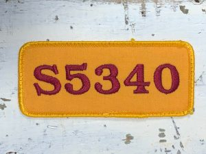 Vintage Northrup King S5340 Patch