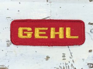 Vintage Gehl Patch