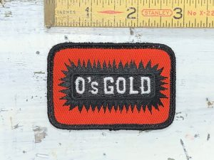 Vintage O's Gold Patch