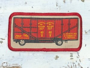 Vintage The Forty & Eight Train Patch