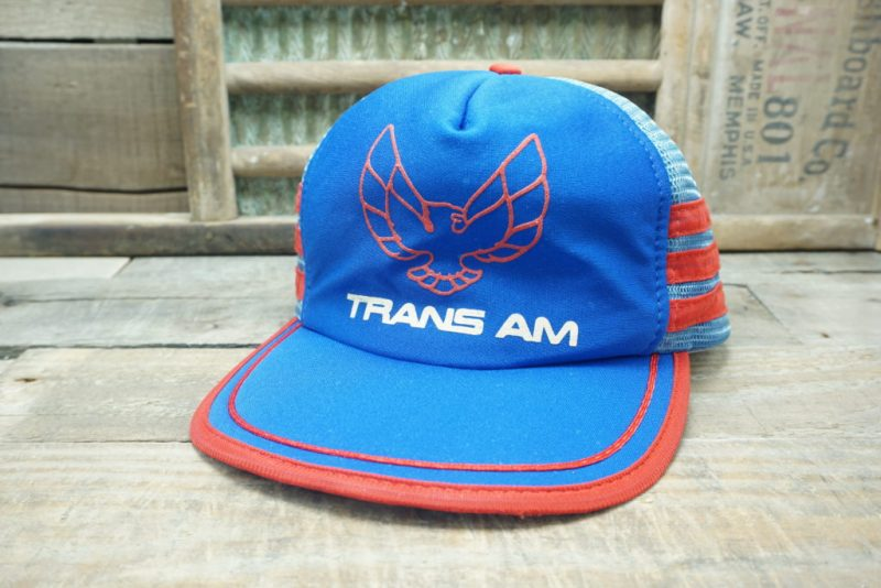 Vintage TRANS AM Snapback Trucker Hat Cap