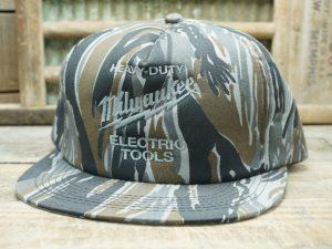 Heavy Duty Milwaukee Electric Tools Camo Hat
